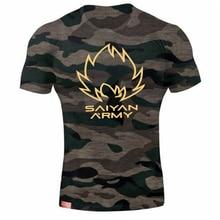 Brand Clothing New Summer Saiyan Men Short Sleeve Tactical Camouflage T-shirt Camisa Masculina Cotton Military Army shirt