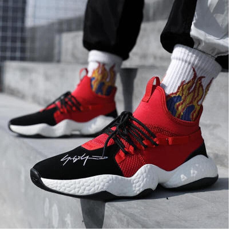 Vintage papa pour hommes chaussures 2018 kanye mode west mesh léger respirant hommes chaussures décontractées pour hommes baskets zapatos hombre soild