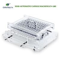 (120 holes) CapsulCN 120S  Encapsulator/Semi Automatic capsule filler/Capsule Filling Machine/Fillable Capsules Machine Size 000|capsule filler|capsule machine|capsule filling -