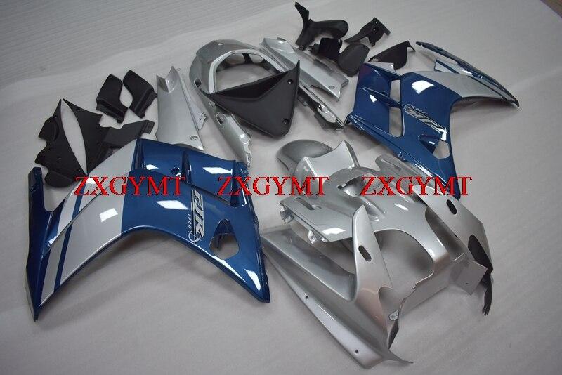 Fairings for for YAMAHA FJR 1300 2002 - 2005 Fairing for YAMAHA FJR 1300 2005 Silver Blue  Body Kits FJR1300 2002Fairings for for YAMAHA FJR 1300 2002 - 2005 Fairing for YAMAHA FJR 1300 2005 Silver Blue  Body Kits FJR1300 2002