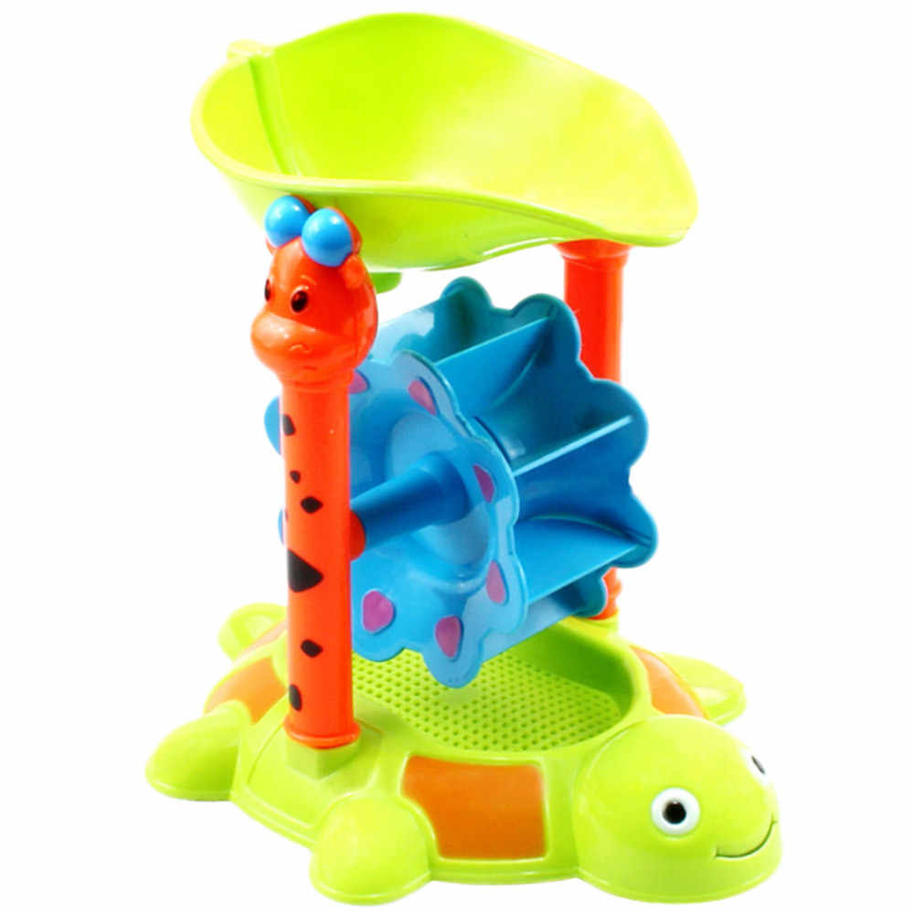 Sledge winter Sandbox for children 5Pcs Sand Kids Beach Toys Castle Bucket Spade Shovel Rake Water Tools For Kids D300206
