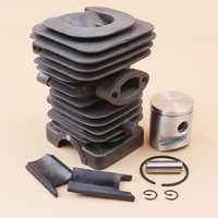 39mm cilindro pistón Kit de HUSQVARNA 235 236 236E 240 240E motosierra 10mm Motor partes #545050417