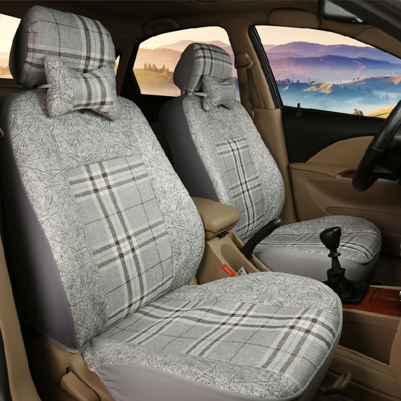 (Only 2 front)Universal car seat covers For Land Rover Range Rover Freelander discovery evoque car accessories car styling custom fit car floor mats for land rover discovery 3 4 freelander 2 sport range sport evoque 3d car styling carpet liner ry217
