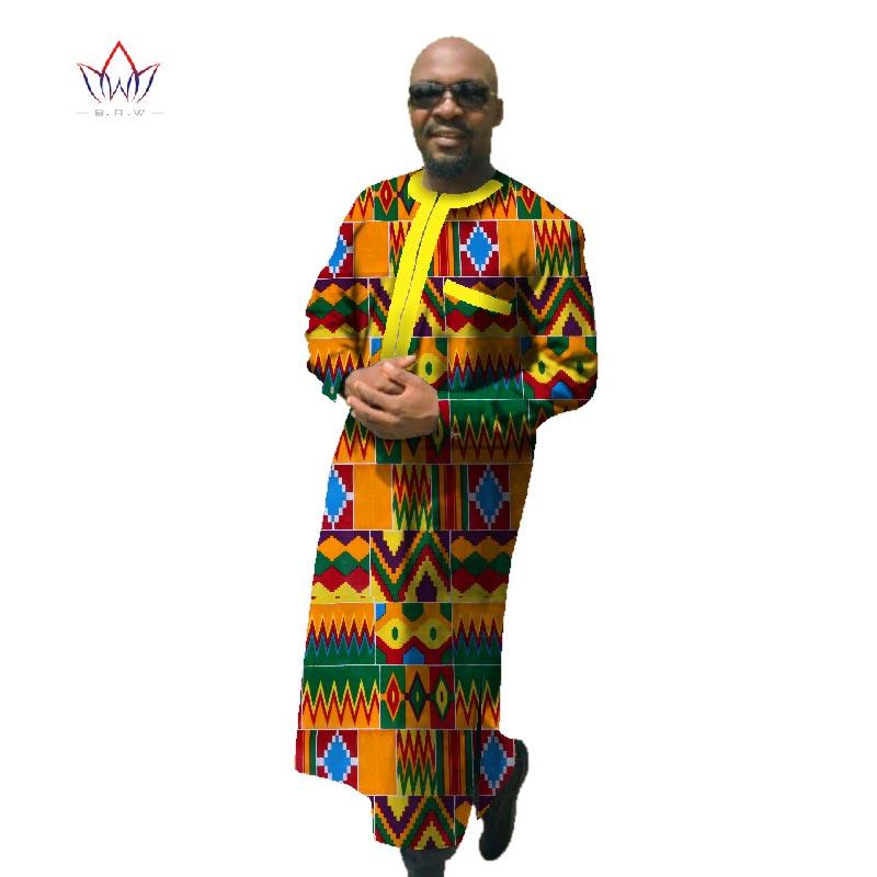 2017 Afrički tisak Dashiki za muškarce Plus veličine afričke - Nacionalna odjeća - Foto 6