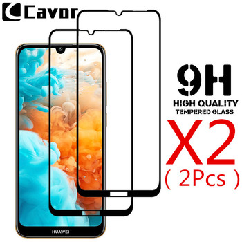 9H Tempered Glass For Huawei Y6 Pro 2019 Case Screen Protector Full Cover Glass Mobile Film For Huawei Y7 Pro Y6Pro Y7pro 2019