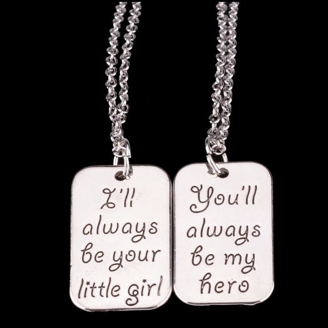 Charm little girl dad my hero daddy father papa daughter pendant charm little girl dad my hero daddy father papa daughter pendant necklace family party men girls aloadofball Choice Image