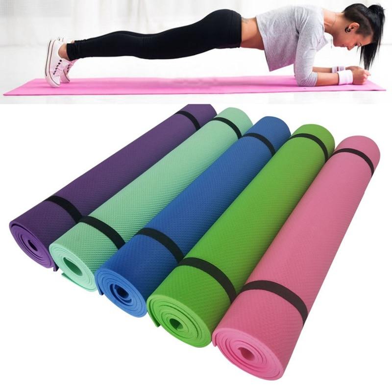 183x61x5mm TPE Non Slip Yoga Mats For Fitness Tasteless