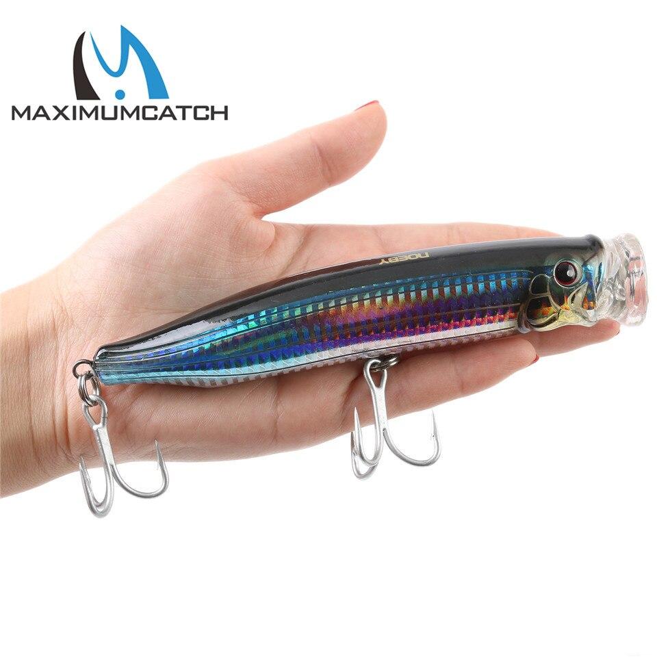 Maximumcatch 150mm/54,5g Popper Köder Top Wasser Leurre De Peche Harte Angeln Locken Künstliche Köder