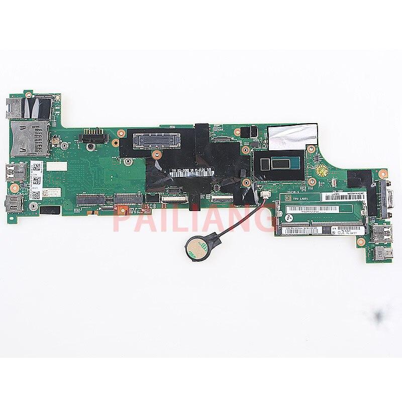 PAILIANG carte mère d'ordinateur portable pour Lenovo X250 I3-5010U TPM PC carte mère 00HT377 tesed DDR3