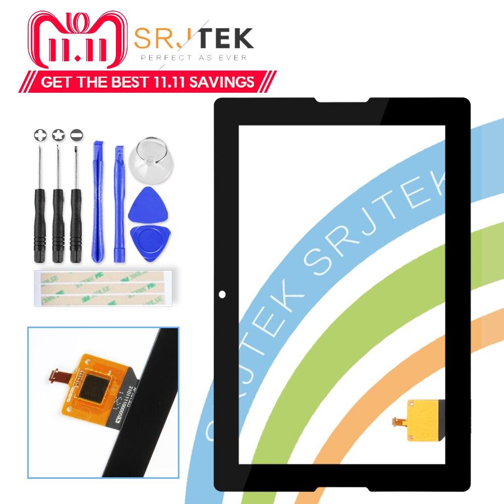 Para Nueva Lenovo Tab A10-70 A7600 A7600-F A7600-H B0474 Pantalla Táctil del Reemplazo de Cristal Digitalizador de 10.1 pulgadas Negro