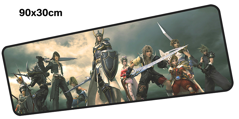 final fantasy mousepad gamer 900x300X3MM gaming mouse pad large Cecil notebook pc accessories laptop padmouse ergonomic mat