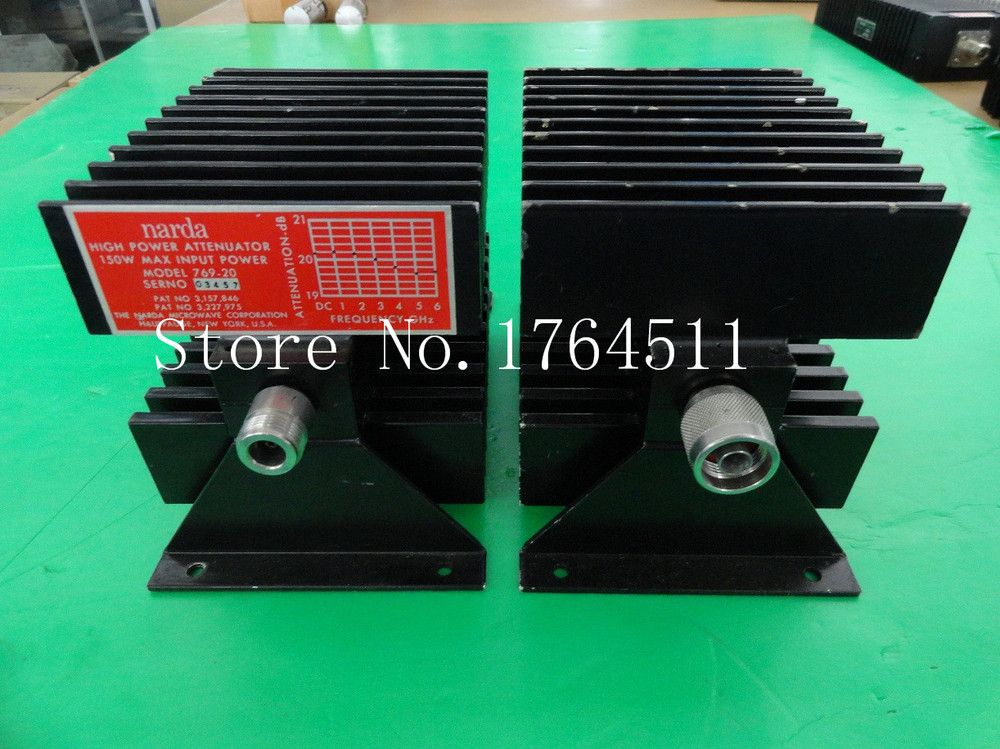 [BELLA] The Supply Of Narda 769-30 DC-6GHZ 30DB Coaxial Fixed Attenuator 150W