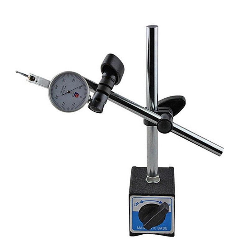 Новое поступление высокое качество Магнитная база держатель с двойной регулируемый полюс для циферблата индикатор тесты Калибр