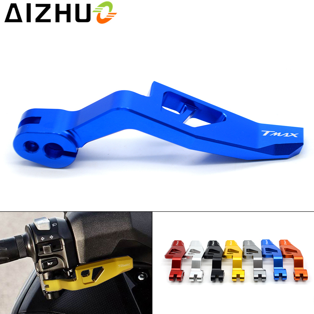 For Yamaha T MAX TMAX 500 530 Motorcycle Paring Brake Lever CNC Aluminum TMAX Motorbike Accessories motor Parking Lever 7 Color in Brake Disks from Automobiles Motorcycles
