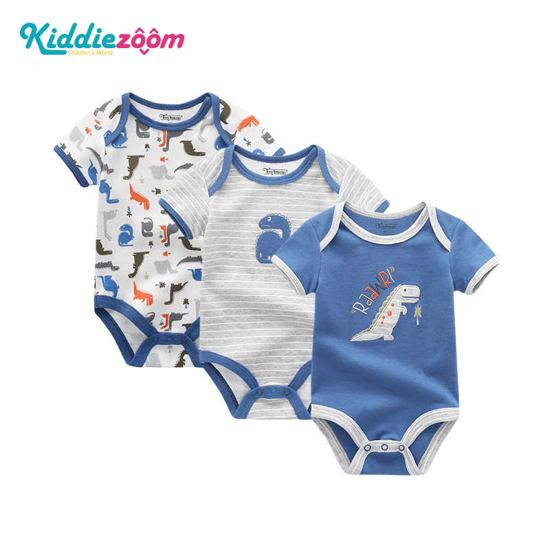 Unicorn תינוקת בגדי גוף יילוד Bodysuits תינוק בגדי 3 יחידות של בנות בגדים סטי Bebe כותנה תינוק בגדים אחד -חתיכות