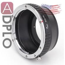 Adaptador de lente compatible con Canon, EOS EF, para cámara Fujifilm X