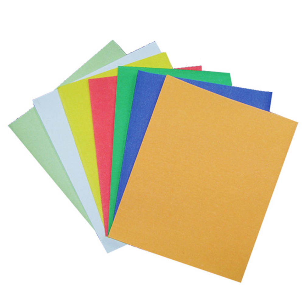 10pcs 23 * 28cm Wet/Dry Polishing Paper Colorful Abrasive Sandpaper Assortment Pack (Random Color)