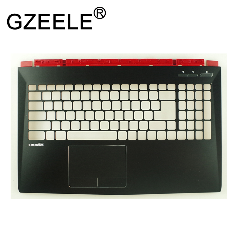 цены GZEELE New For MSI GL62 GP62 TOP COVER Palmrest Upper Case GP62MVR MS-16J5 MS-16J9 MS-16J3 keyboard bezel for Metal material
