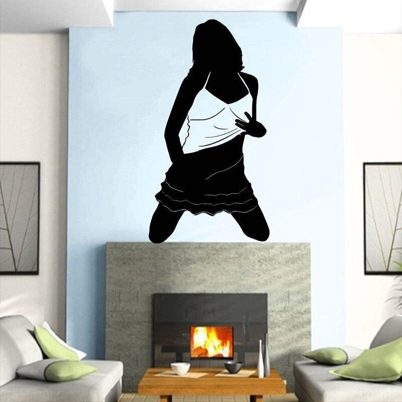On Sale Pegatina Quadro Parede Decor Mural Sexy Girl Sticker