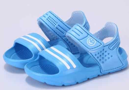 2018 г. Новая летняя корейская детская обувь с мягкой подошвой, износостойкие сандалии пляжная обувь для мальчиков и девочек