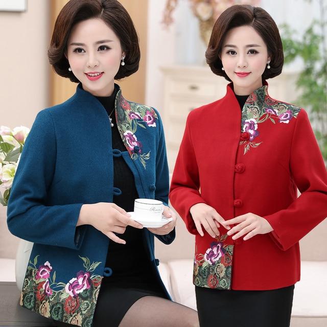 Traditionelle Chinesische Kleidung Für frauen winter Neue Jahr ...