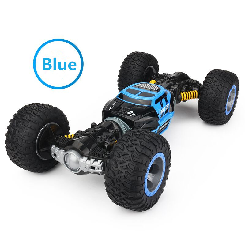 Image 2 - RC Car 4WD Truck Scale Double sided 2.4GHz  One Key Transformation All terrain Vehicle Varanid Climbing Car Remote Control Toys-in RC Cars from Toys & Hobbies