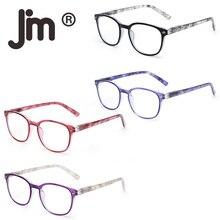 JM Reading Glasses Set of 4 Quality Spring Hinge Readers Men Women for