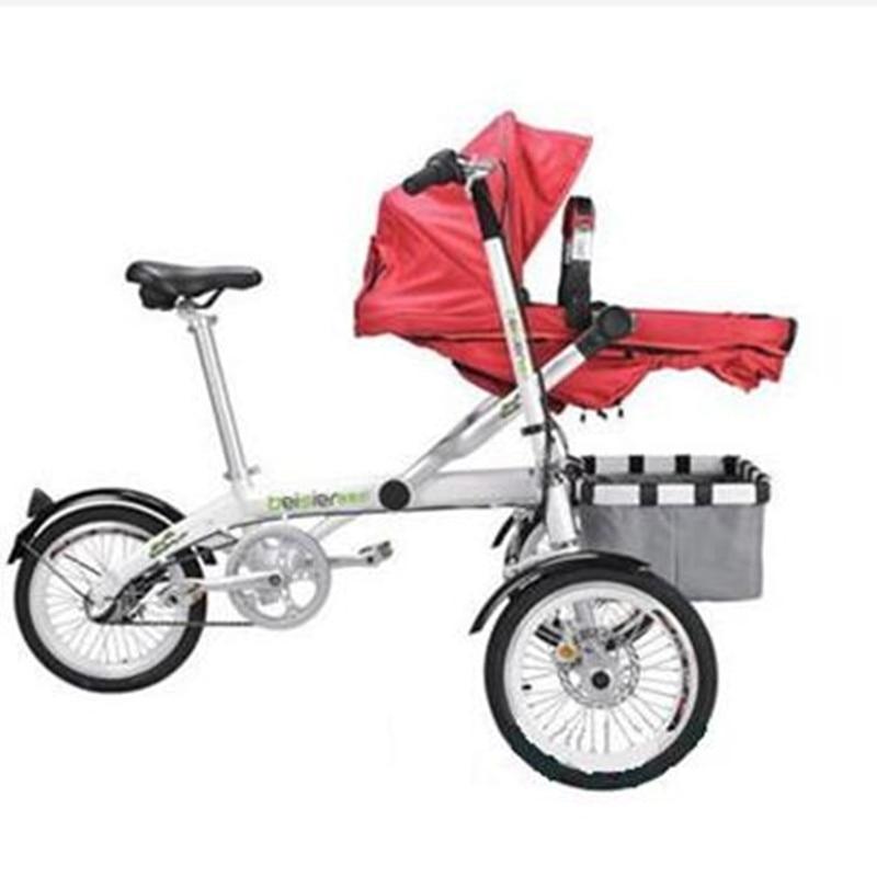 Για το Ta Ga Baby Mother Bike καροτσάκι - Παιδική δραστηριότητα και εξοπλισμός - Φωτογραφία 2