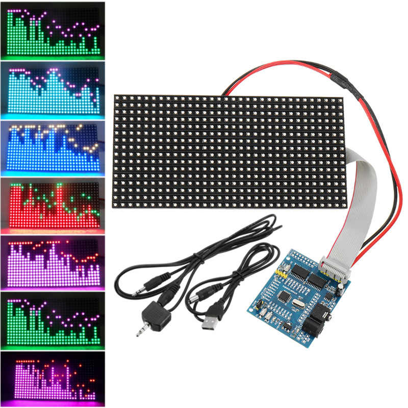 Detail Feedback Questions about 16*32 Colorful Music Spectrum STM32