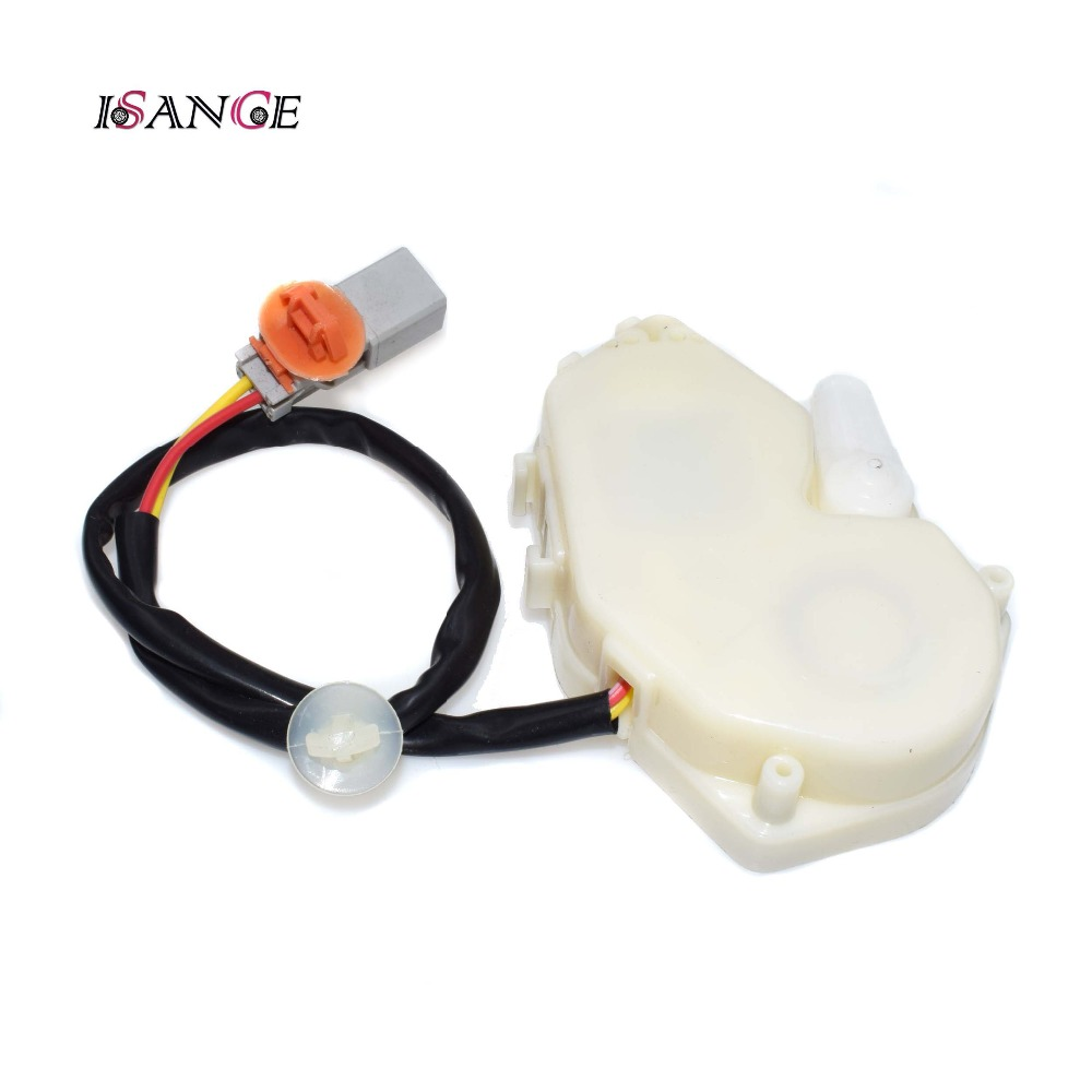 Isance Door Lock Actuator Front Right Passenger Side For