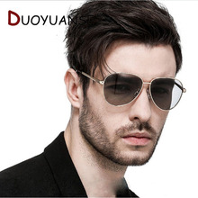 Fishing Polarized Glasses Driver Driving change color aluminium magnesium alloy Sunglases Men Male Sun 2081
