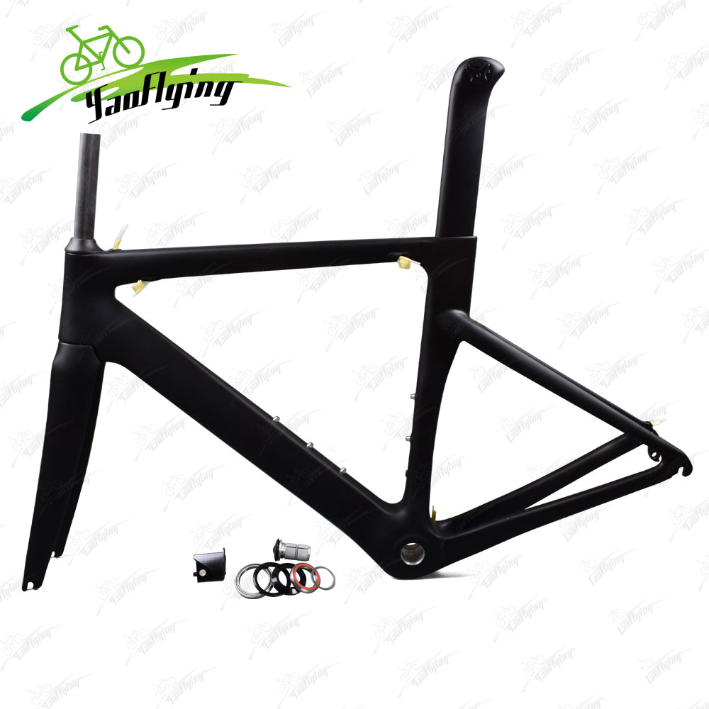 Carbon Road Bicycles <font><b>Frame</b></font> Matte Glossy 3K <font><b>Bike</b></font> <font><b>Frame</b></font> BSA Bottom Bracket Cycling racing bicycle frameset 2018 Hot carbon <font><b>frame</b></font>