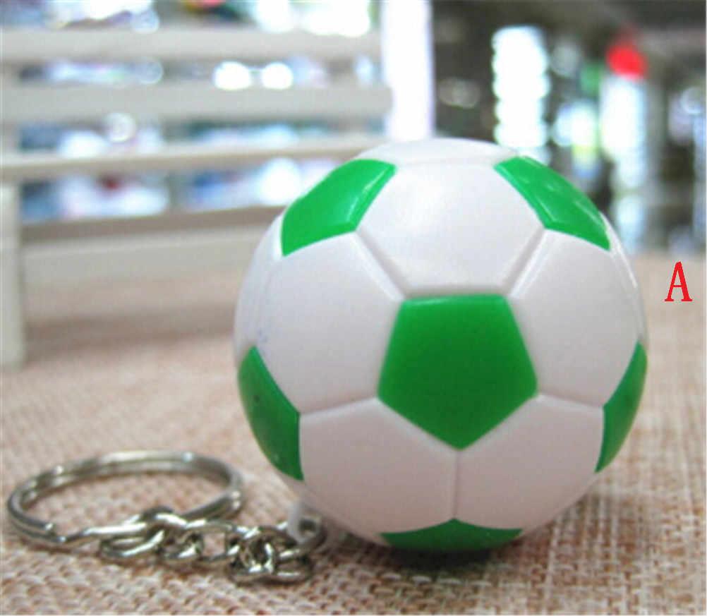 แฟชั่นกีฬาพวงกุญแจรถ Key CHAIN แหวนฟุตบอลบาสเกตบอลกอล์ฟ Ball จี้พวงกุญแจสำหรับของขวัญ 3.8 ซม.