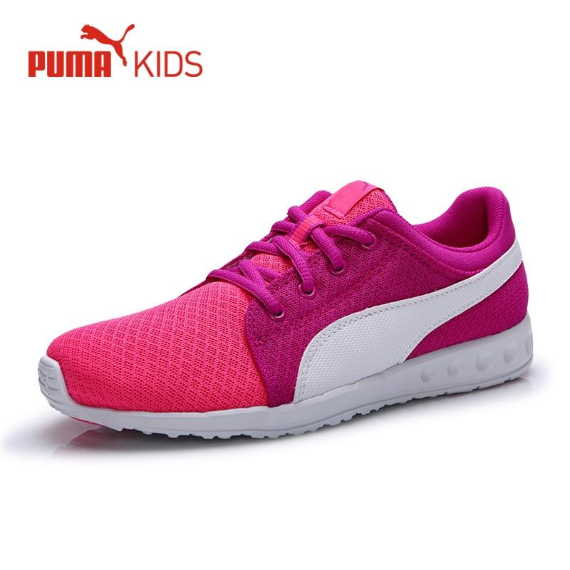 a9570a6570e Original PUMA Summer Air Mesh Girl Children Sneakers Lace Up Lightweight  Boys Kids Sport Running Shoe Luxury Brand Casual Shoe