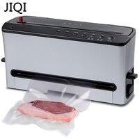JIQI Вакуумный пищевой упаковщик  электрическая упаковочная машина для пищевых продуктов  автоматический комбайн для сухих/влажных вакуумны...