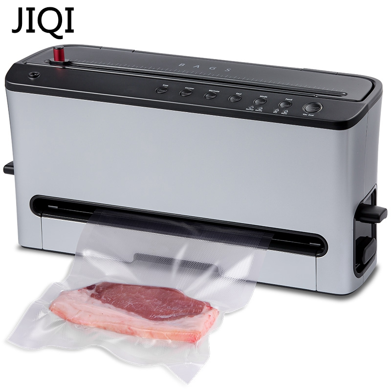 JIQI Vacuum Food Sealer Electric Food Packaging Machine Automatic Food Processor Dry / wet vacuum pumping unit Vacuum pickle wavelets processor