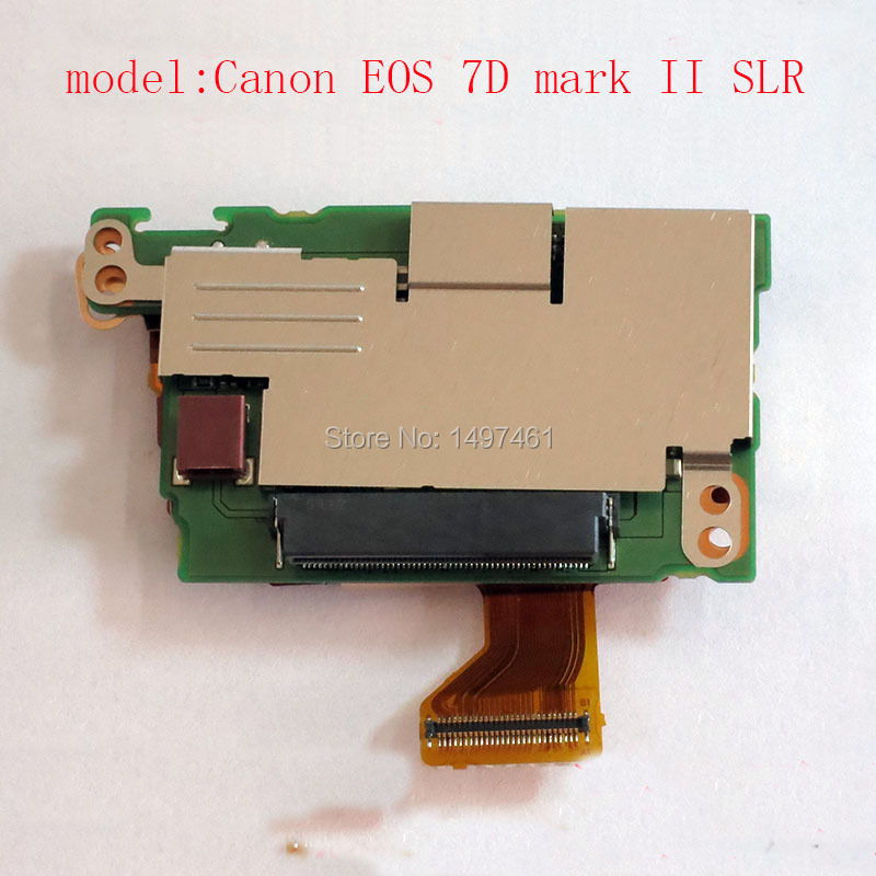 New shoulder DC Power Supply board PCB Repair parts for Canon EOS 7D Mark II ; 7DII 7D2 7DM2 DS126461 SLR new shutter assembly group for canon eos 7d mark ii 7d2 digital camera repair part
