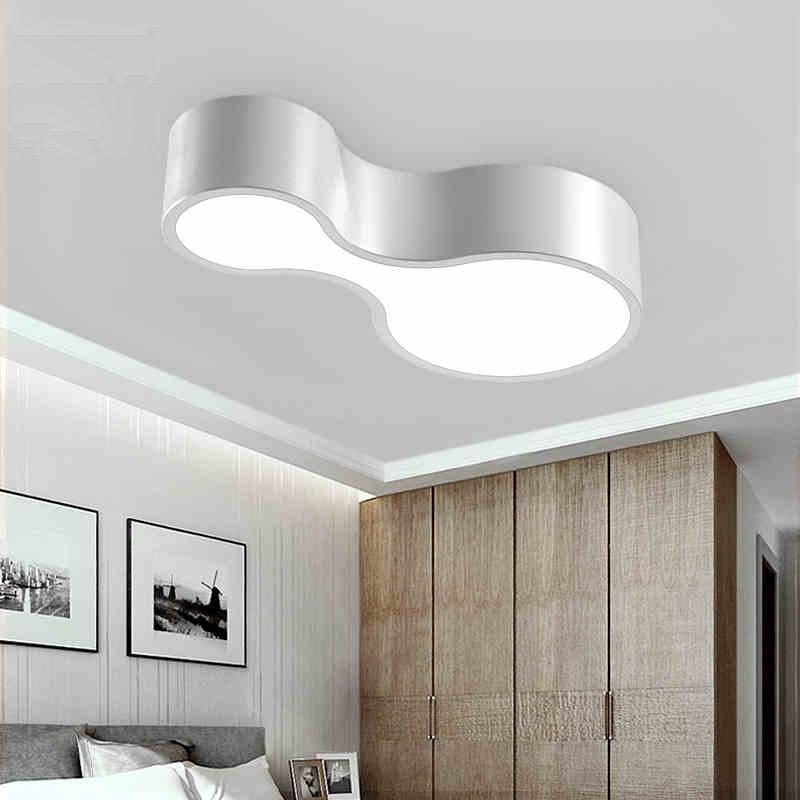 superb deckenleuchte schlafzimmer weis 2 #2: Moderne Led deckenleuchten 12 watt Acryl Led deckenleuchte esszimmer zimmer  bowling Schlafzimmer licht schwarz weiß 2 farbe Leuchte LK in Moderne ...