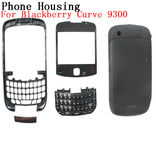 brand new 9bd40 bc274 US $8.6 |RTBESTOYZ New Full Set Housing For Blackberry Curve 9300 Housing  Back Battery Cover Case +Side Button Keypad-in Mobile Phone Housings from  ...