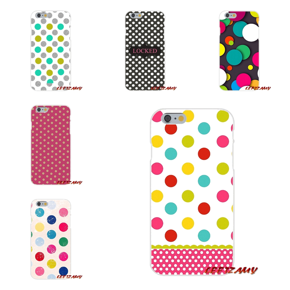 Polka Dots line Accessories Phone Shell Covers For Huawei P8 P9 P10 Lite 2017 Honor 4C 5X 5C 6X Mate 7 8 9 10 Pro