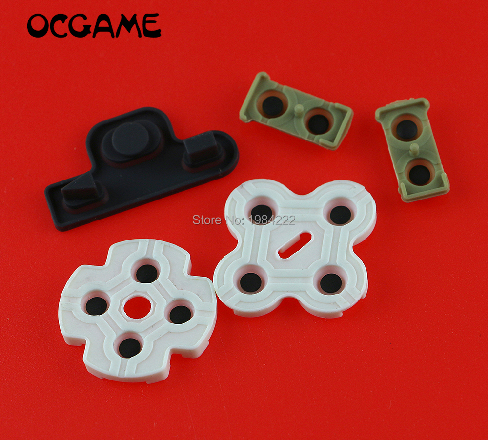 OCGAME 60sets/lot Joystick Replacement Conductive Rubber For PS3 Controller