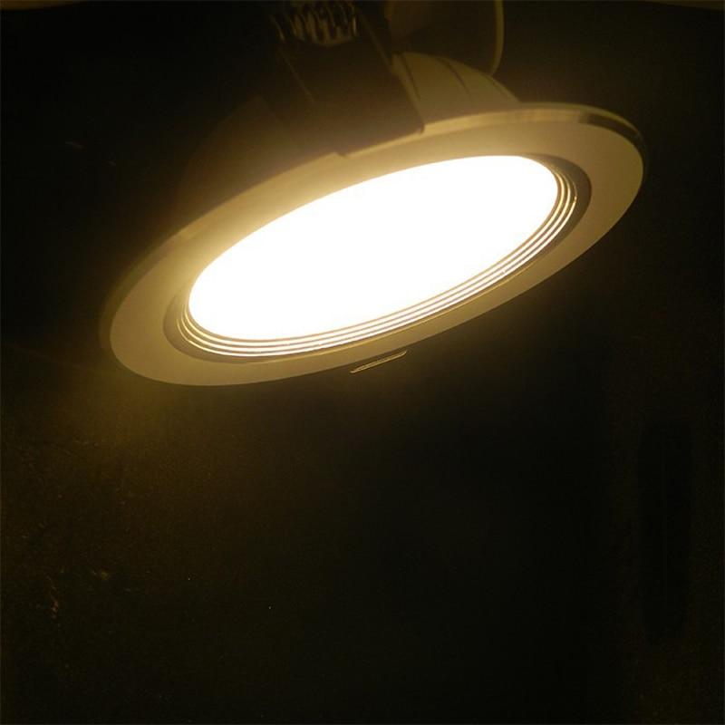 20pcs / tétel LED Downlight CE-meghajtó nélküli 220 V-os, 5 W / - LED Világítás - Fénykép 5