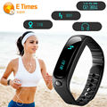 E02 Smart Bracelet Bluetooth 4.0 Smartband Health fitness tracker Sport Wristband Call Message Remind Band For Android IOS Phone