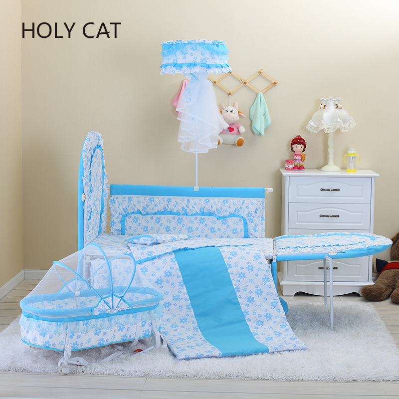 Holycat Duchenne Baby Carrier, Korean Fabric, Environmental Protection Bed, Children Bb Lengthened Dc-9001