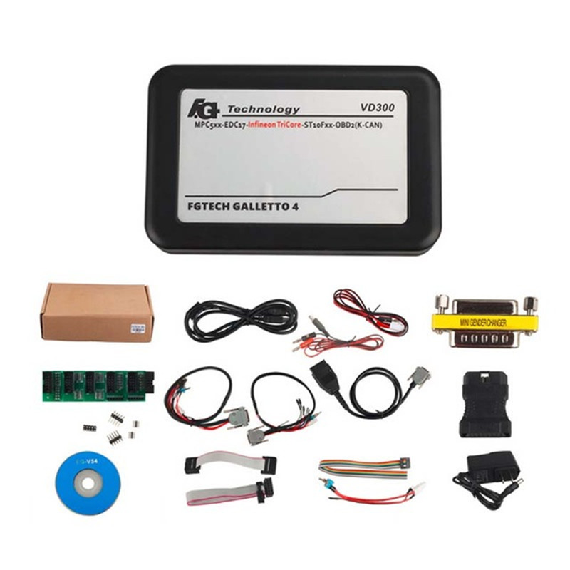 ФОТО VD300 V54 FGTech Galletto 4 Master BDM-TriCore-OBD Function ECU Chip Tuning Tool for Cars Trucks