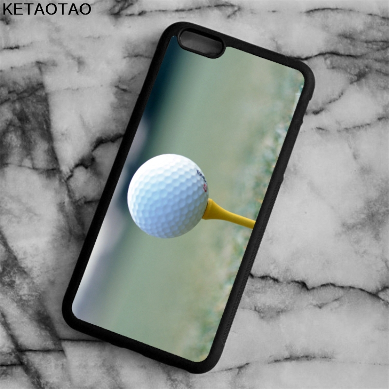 KETAOTAO NEW golf stick Phone Cases for iPhone 4S 5S 6 6S 7 8 X PLUS for Samsung S3 4 5 6 7 8 NOTE Case Soft TPU Rubber Silicone