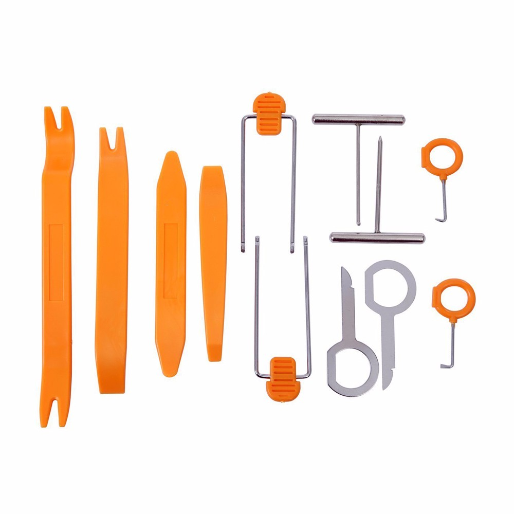 Super Pdr 12pcs Car Stereo Installation Kits Radio Removal Tool How To A Tools Din Install