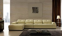 2019 No Armchair Bag Sofa Beanbag Hot Sale Set Real Modern Italian Style Leather Corner Sofas For Living Room Furniture Sets