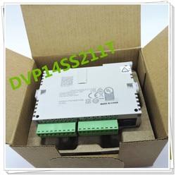 Oryginalny pełny nowy programowalny sterownik plc serii SS2 DVP14SS211T tranzystor ouput 24VDC 8DI 6DO w pudełku