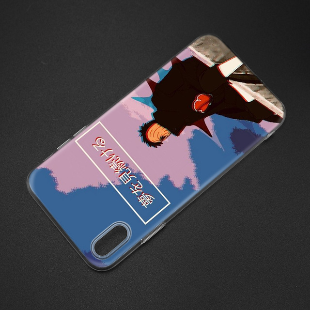 Naruto Uchiha Obito Pain Cartoon Case Cover for Apple iPhone 11 11Pro X XR XS Max 7 8 6 6S 5 5S SE Plus 7Plus 8Plus 6P 7+ 8+